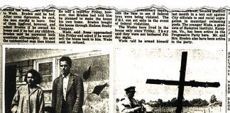 May 17, 1954, tearsheet from The Courier-Journal