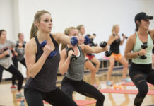 The 128,000-square foot Student Recreation Center opened on October 28, 2013,