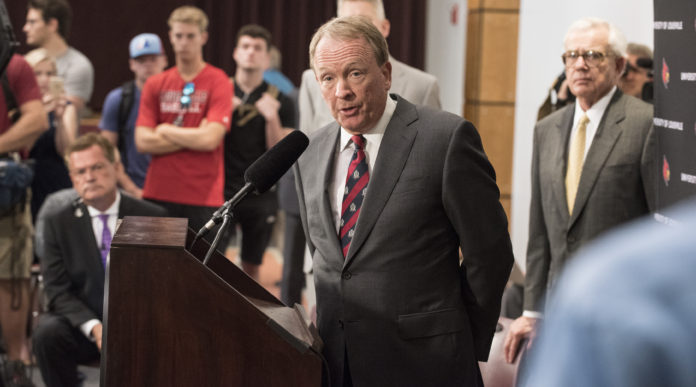 University of Louisville Interim President Dr. Greg Postel.
