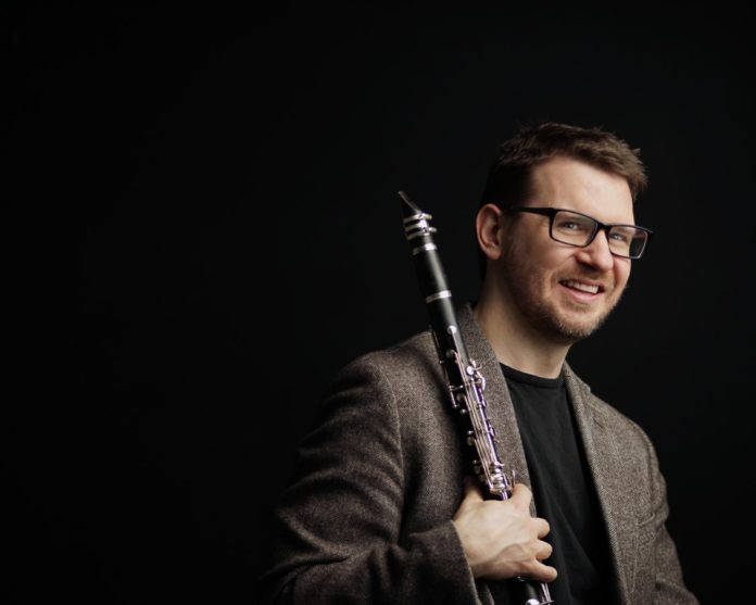 Dr. Matthew Nelson, Assistant Professor of Clarinet at the University of Louisville School of Music. Photo by Tina Gutierrez, courtesy Dr. Matthew Nelson.