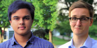 Goldwater Scholars Praneeth Goli and Garrett McGrady